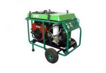 Kompaktowy kompresor śrubowy z silnikiem spalinowym B&S